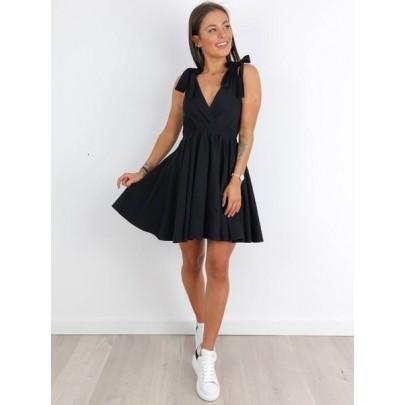 Dámske čierne šaty AIDA