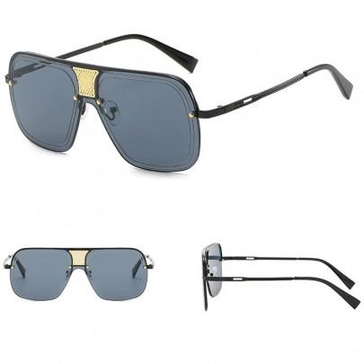 Slnečné okuliare Alonso celé čierne
