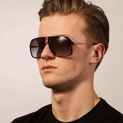 Pánske slnečné okuliare Ricardo čierne red