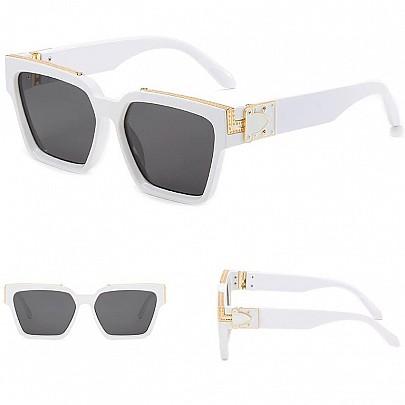 Slnečné okuliare Rafael biele