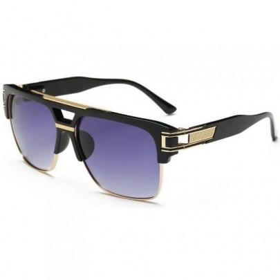 Slnečné okuliare Pablo Gold čierne Gradual