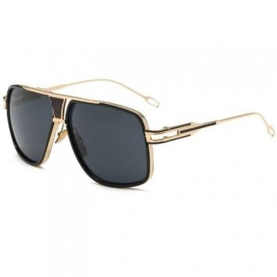 Slnečné okuliare Hawk čierne All Black