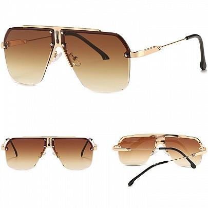 Pánske slnečné okuliare Tino hnedé