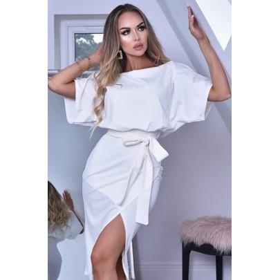Dámske biele šaty CLARICE