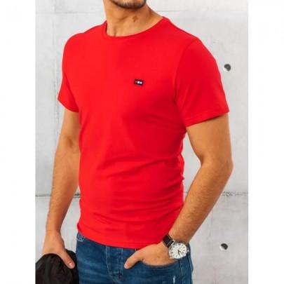 Pekné červené pánske tričko RX4559