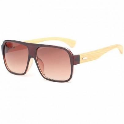 Slnečné okuliare Wayfarer wood hnedé