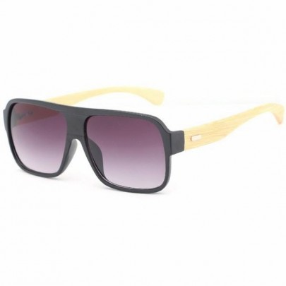 Slnečné okuliare Wayfarer wood čierne