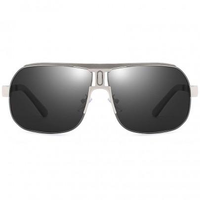 Polarizačné slnečné okuliare pilotky Roy šedé