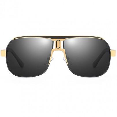 Polarizačné slnečné okuliare pilotky Roy čierne
