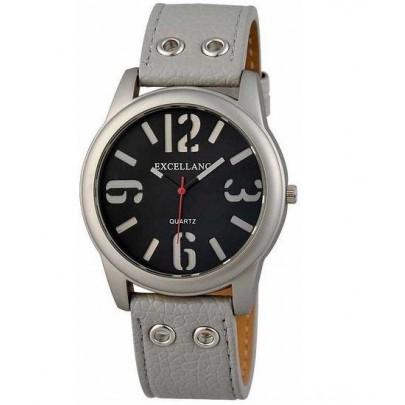 Pánske sivé hodinky Excellanc