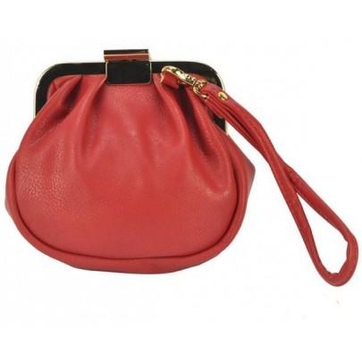 Dámska zaujímavá peňaženka - červená