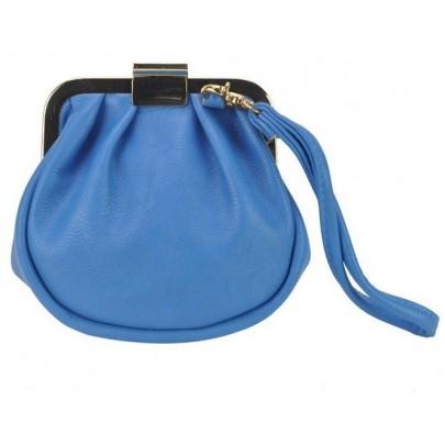 Dámska zaujímavá peňaženka - modrá