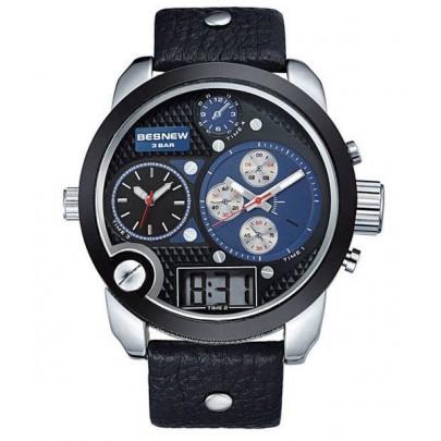 Pánske hodinky TripleZone Digital - modré