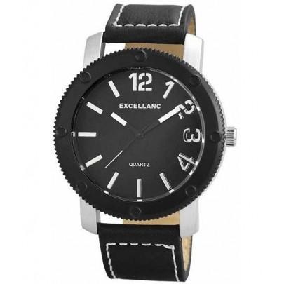 Pánske hodinky Excellanc - čierne