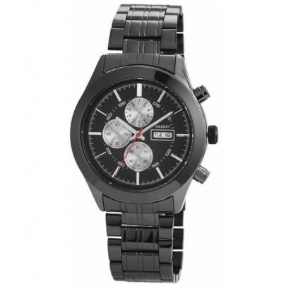 Pánske kovové hodinky Akzent - čierne