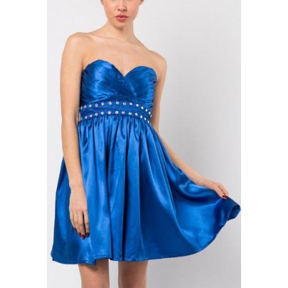Dámske šaty Diamond - modré