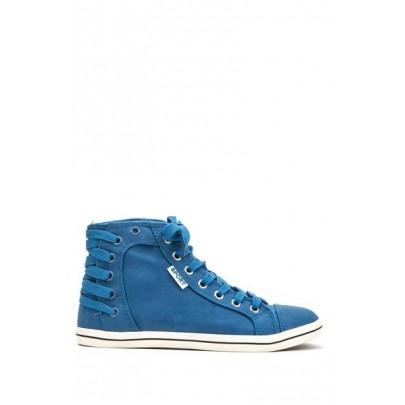 Modré dámske tenisky