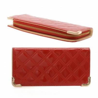 Štýlová peňaženka - červená