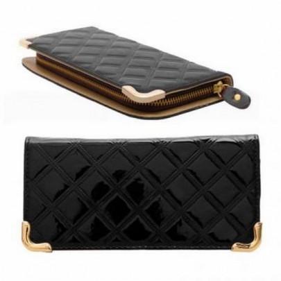 Štýlová peňaženka - čierna