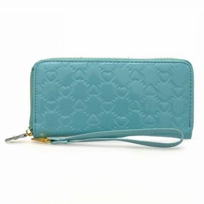 Trendy peňaženka LOVE - modrá