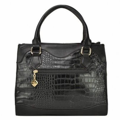 Trendy kabelka Croc - čierna