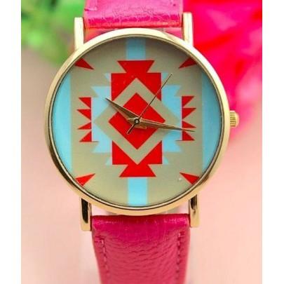 Dámske hodinky AZTEC - ružové