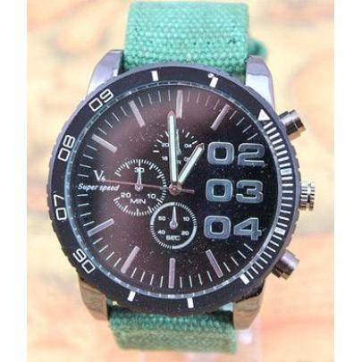 Pánske hodinky V6 - zelené