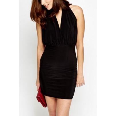Dámske čierne šaty Emmaline
