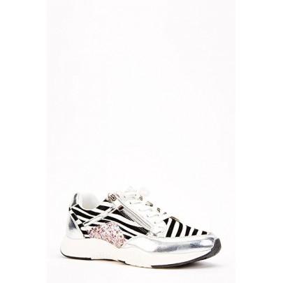 Dámske tenisky Sport zebra