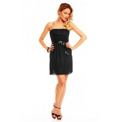 Dámske čierne šaty Nataly