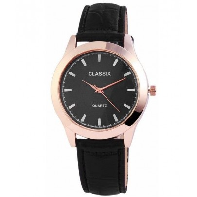 Pánske hodinky Classix čierno zlaté