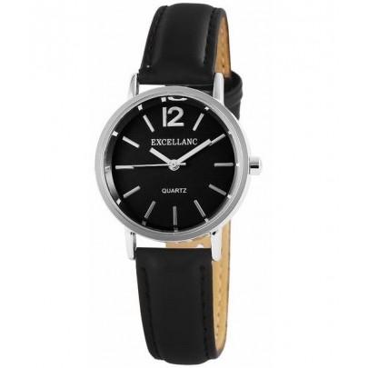 Dámske hodinky Excellanc čierne strieborné