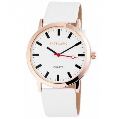 Pánske biele hodinky Excellanc