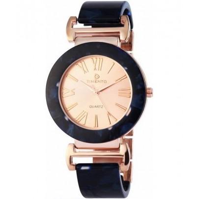Dámske hodinky Timento - zlaté Dark Blue