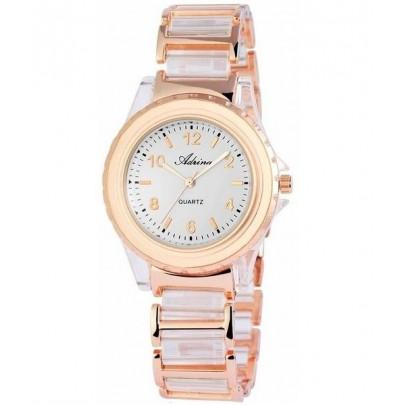 Dámske hodinky Adrina - zlaté