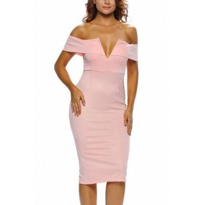 Dámske šaty Berenice - ružové