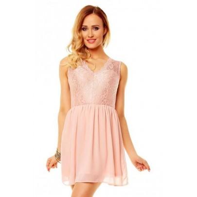 Dámske ružové šaty Piera