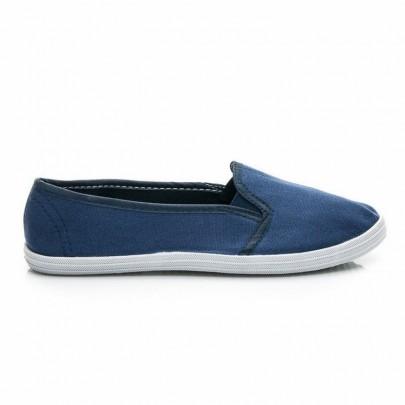 Slip-on tenisky modré