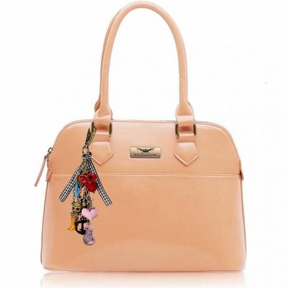 Dámska kabelka s príveskom Nude
