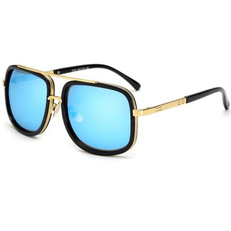 82b66129f Slnečné okuliare Golden čierne modré sklá Slnečné okuliare Golden čierne  modré sklá