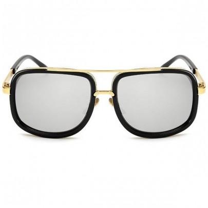 Slnečné okuliare Golden čierne zrkadlové sklá