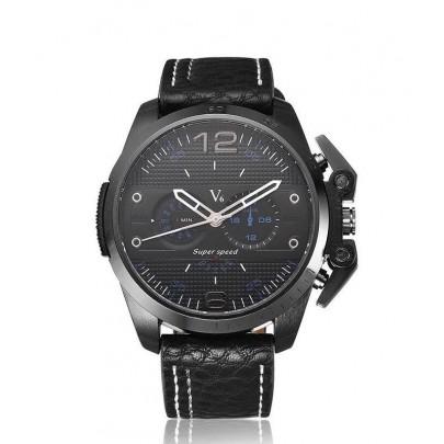 Pánske hodinky V6 - čierne