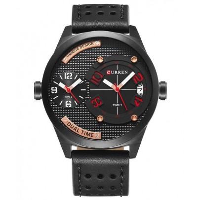 Pánske hodinky CURREN Dual - čierne