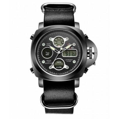 Pánske hodinky GOLDEN HOUR - čierne