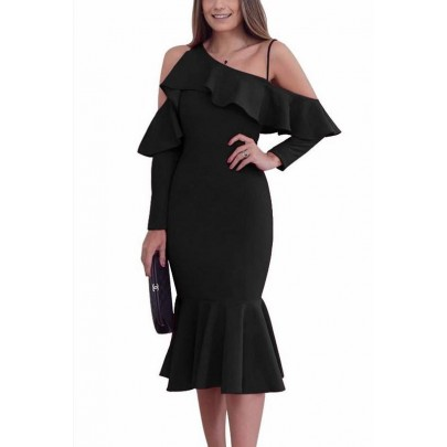 Dámske čierne šaty Elise