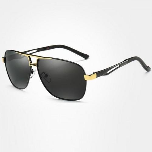 4823ffc4e Polarizační sluneční brýle pilotky Mauro zlaté černé