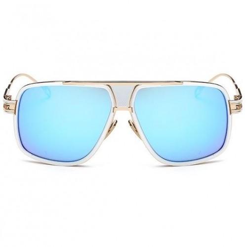 77614b38b Sluneční brýle Hawk bílé modré skla