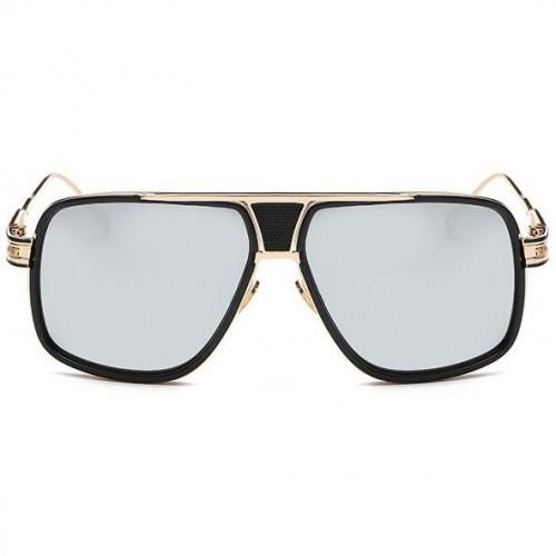 15abcbecb Sluneční brýle Hawk černé zrcadlová skla