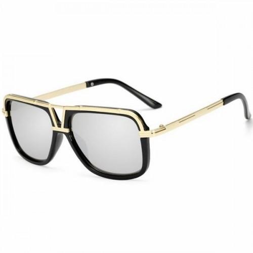 da4b0e75e Pánské sluneční brýle Adelio stříbrné skla