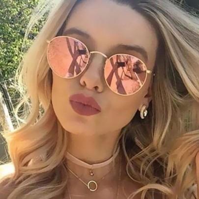 Dámske slnečné okuliare Lilja ružové